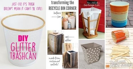 DIY Trash Can