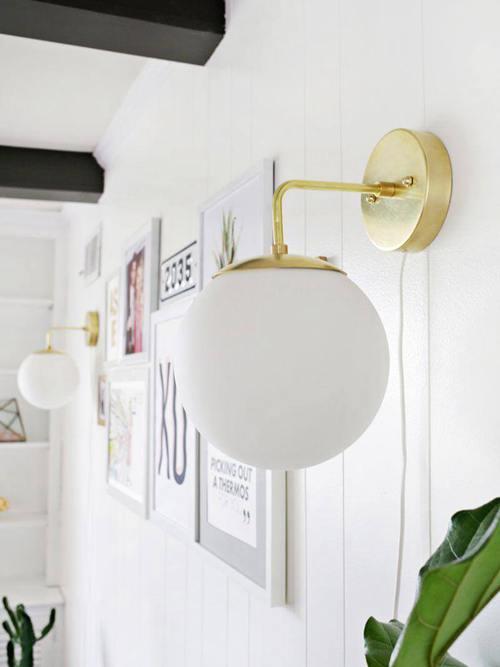DIY Wall Sconce Ideas