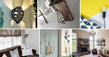 DIY Wall Sconce Ideas