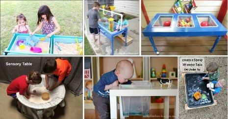 DIY Water And Sand Sensory Table Ideas