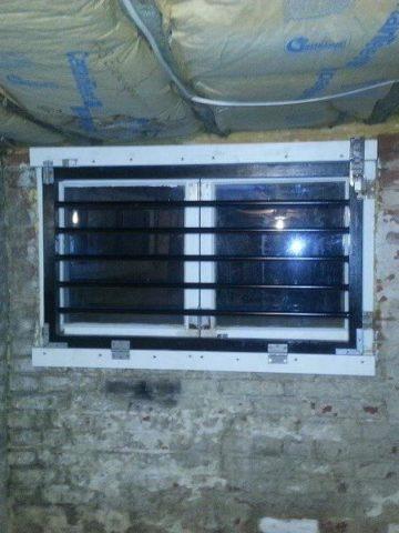 DIY Window Security Bars