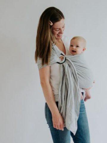 DIY baby sling ideas