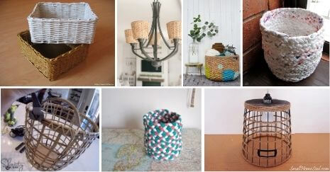 DIY basket ideas