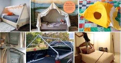 DIY bed tents