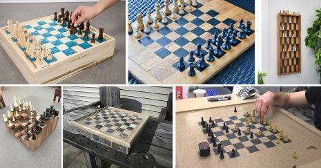 DIY chess boards
