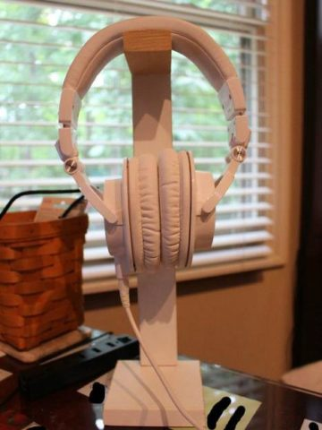 DIY headphone stand ideas