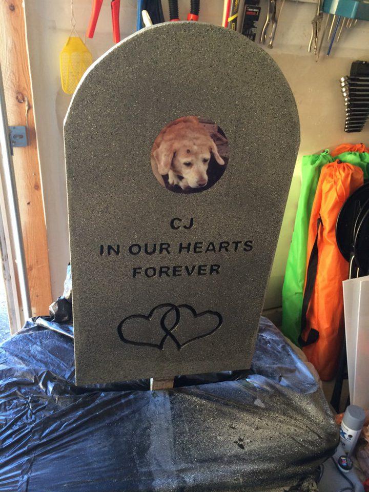 Pet Headstone Ideas