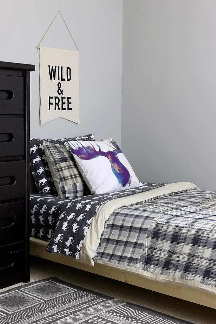 1. $30 Twin Platform Bed