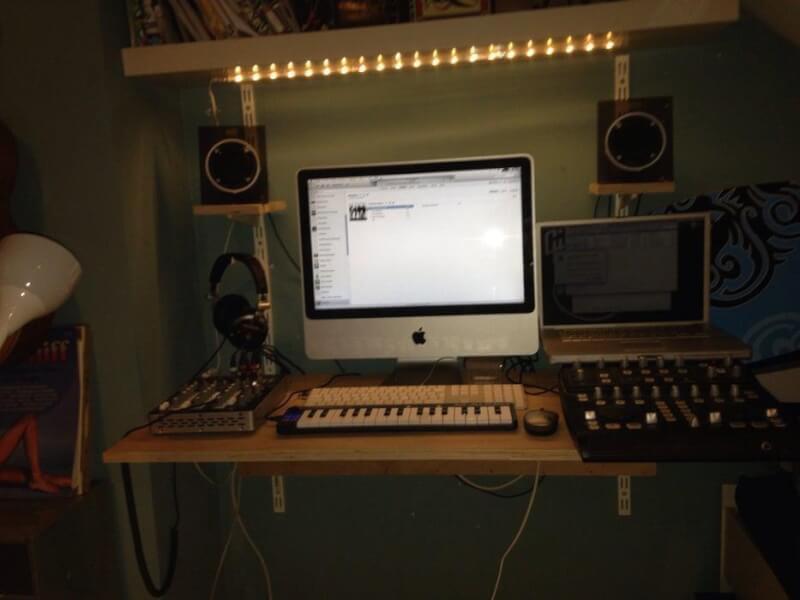 1. DIY Cheap Studio Desk