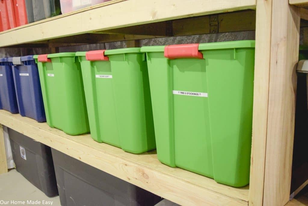 1. DIY Easy Storage Shelving