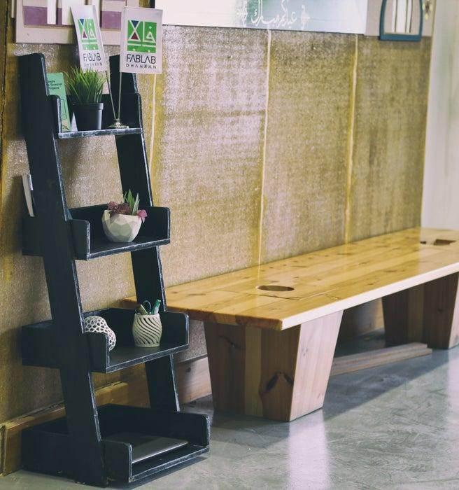 1. DIY Ladder Shelf