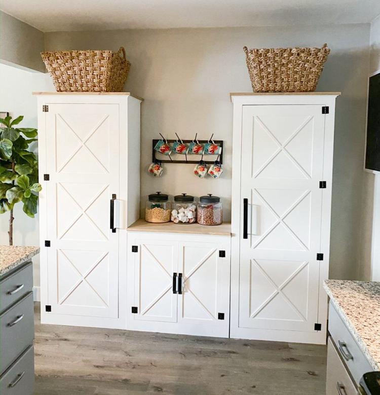 1. DIY Pantry Cabinet