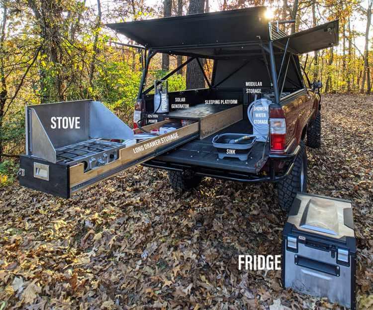 1. Homemade DIY truck camper build