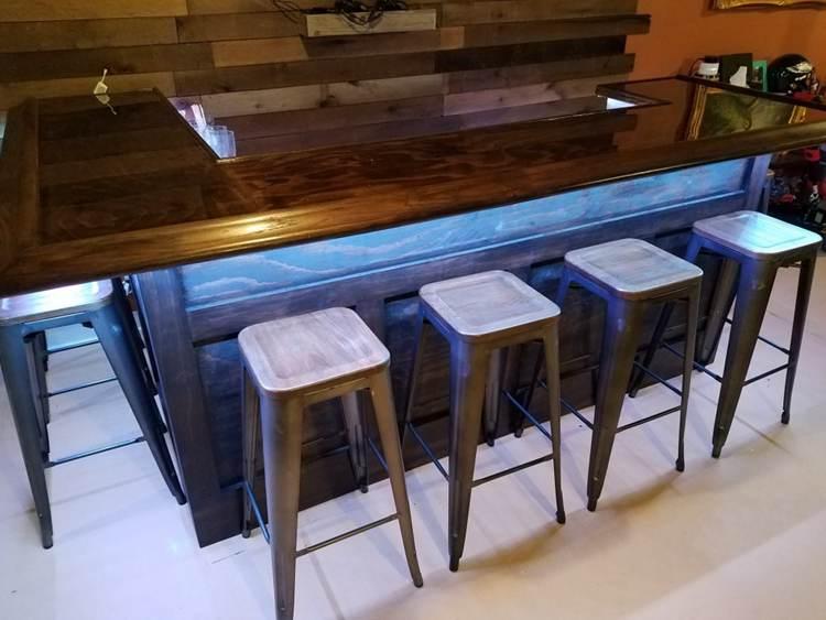 1. How To Build A Homemade Bar