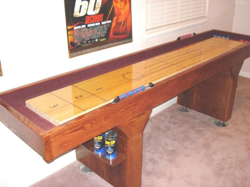 1. How To Build A Shuffleboard Table