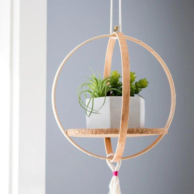 1. How To Make A Hanging Shelf