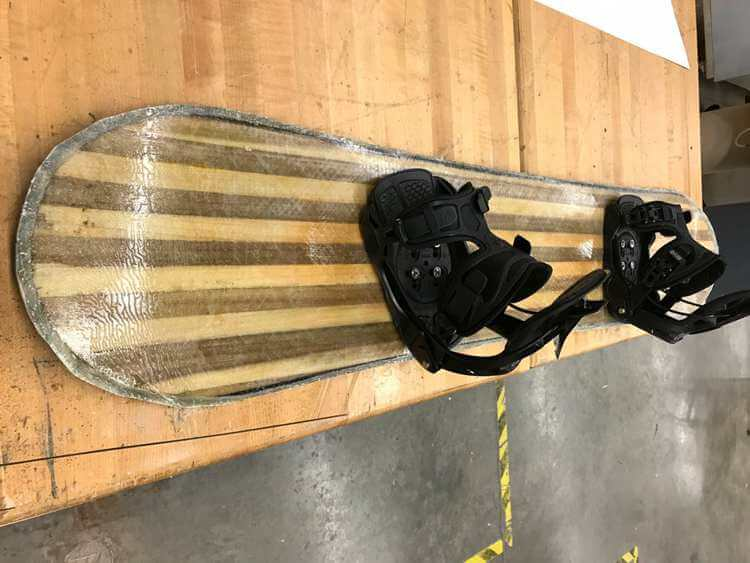 1. Instructable's DIY snowboard