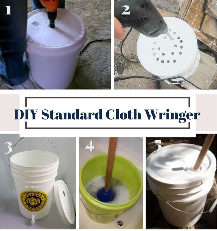 1. Standard Cloth Wringer