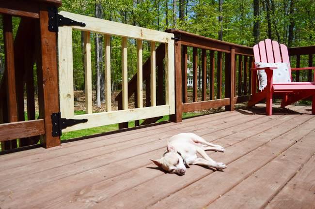 1. Wooden Outdoor Gate