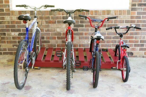 10. DIY Bike Rack