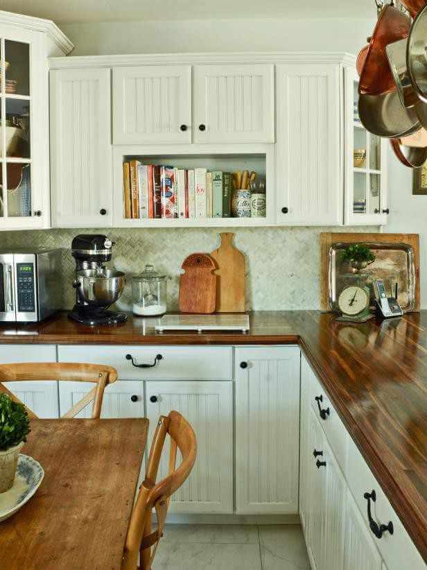 10. DIY Butcher Block Kitchen Countertop