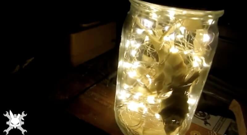 10. DIY Fairy Light Mason Jar