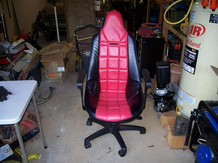 10. DIY Racing Seat To Office Chair