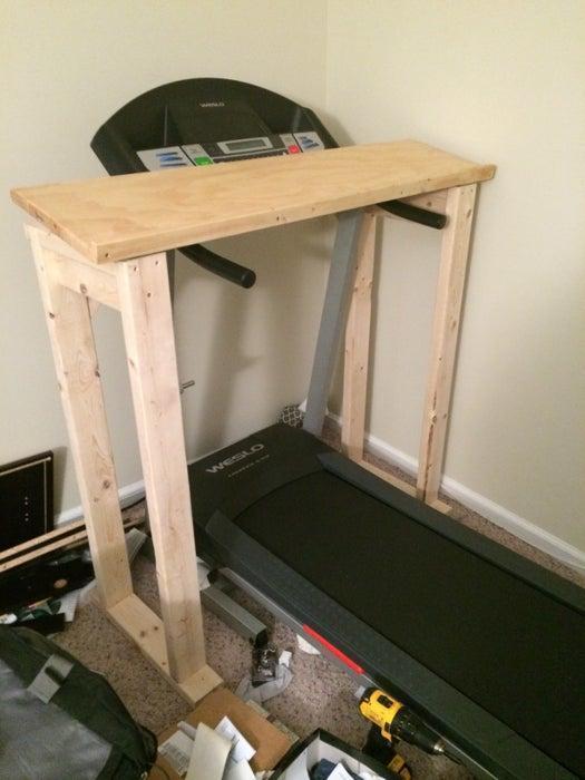 10. Do It Yourself Treadmill Desk