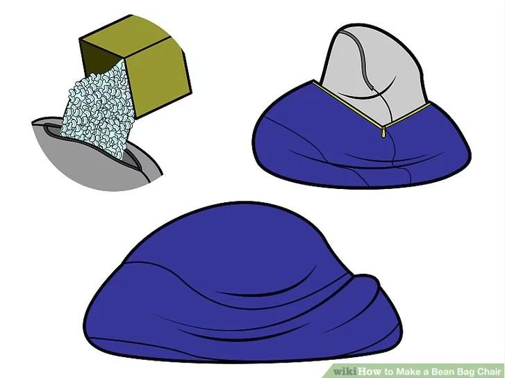 10. How To Make A Bean Bag Chair
