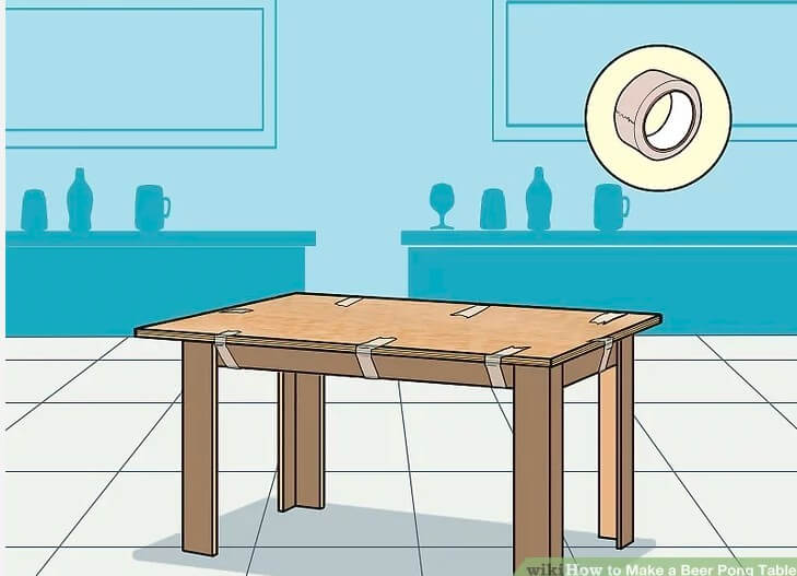 10. How To Make A Beer Pong Table