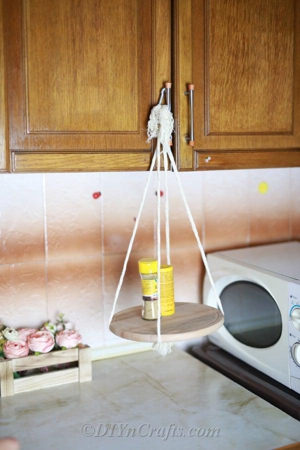 10. How To Make A Decorative Hanging Shelf