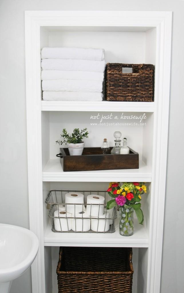 10. How To Make Bathroom Shelves