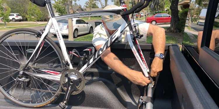 11. Bike Rack System