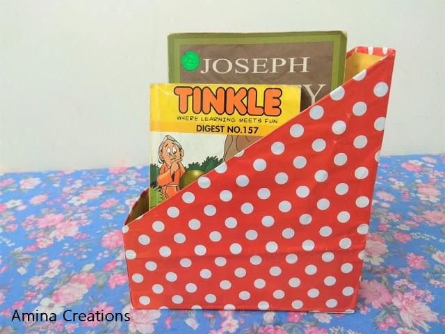 11. Cereal Box Organizer