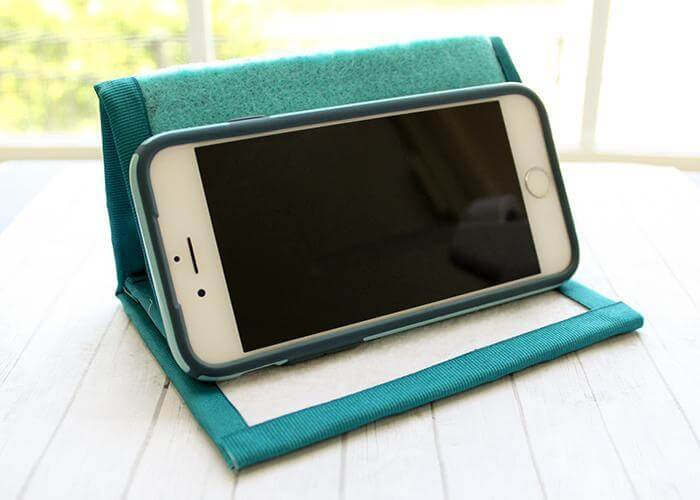 11. DIY Cell Phone Stand