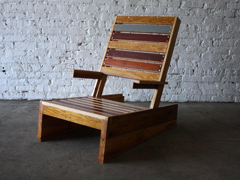 11. DIY Scrap Adirondack Chair