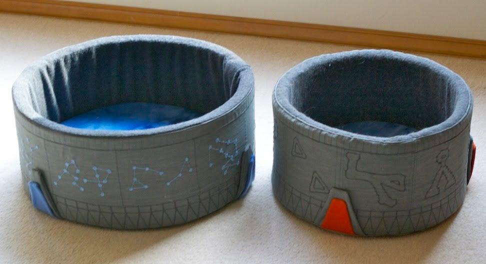 11. DIY Stargate Cat Bed