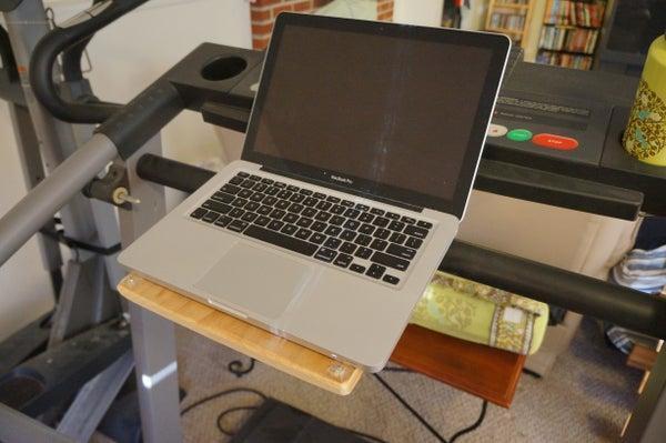 11. DIY Treadmill Desk In 60 Minutes