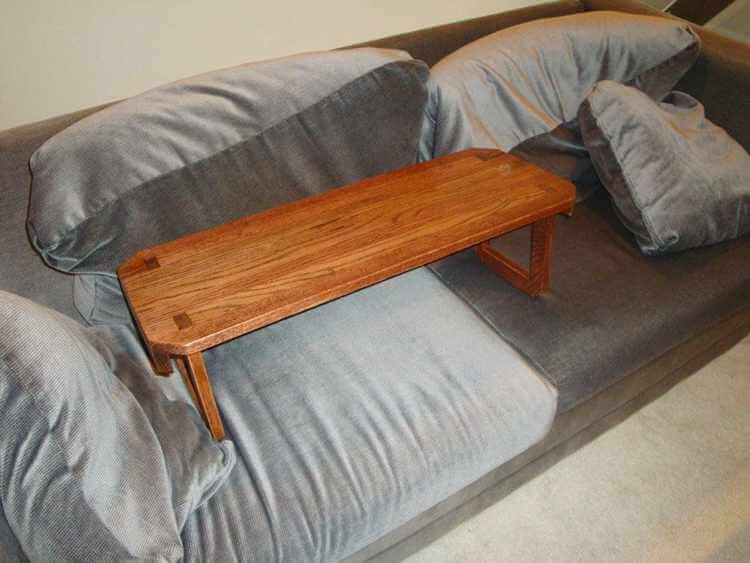 11. DIY Wooden Lap Desk