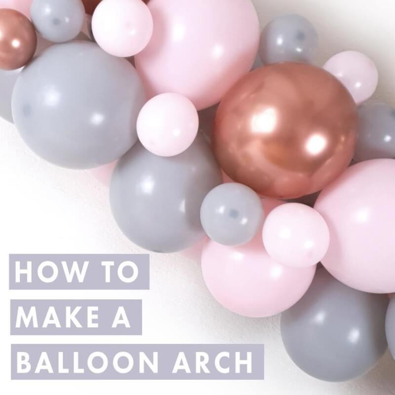 11. How To Make A Balloon Arch