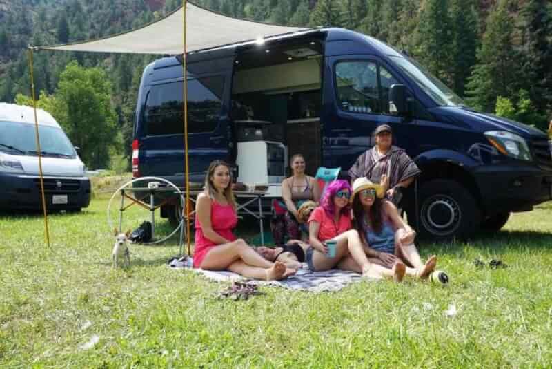 12. Campervan shade awning for under $100