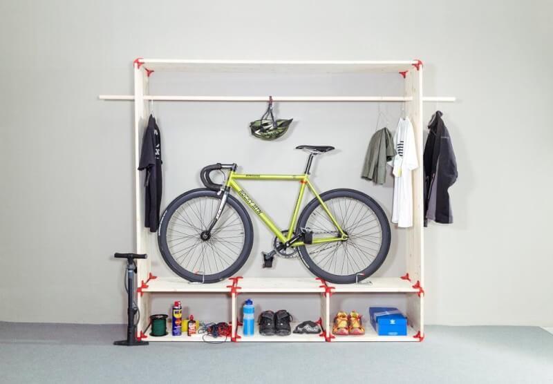 12. DIY Bike Rack