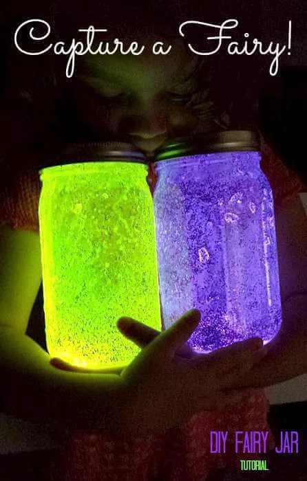 12. DIY Fairy Jar