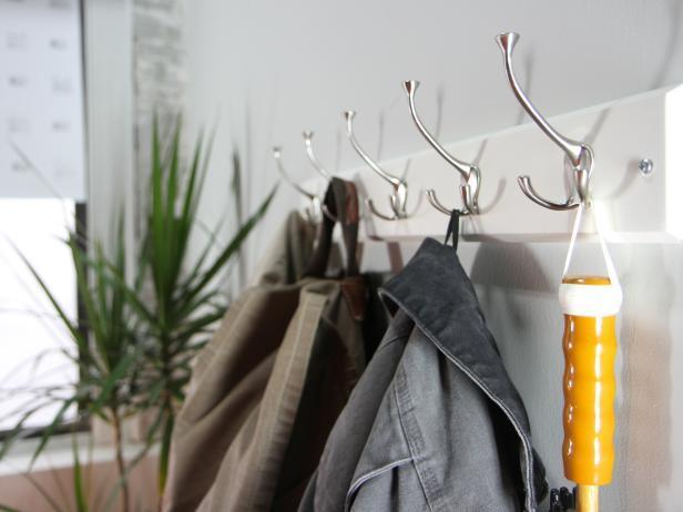 12. How To Hang A Coat Rack On The Wall