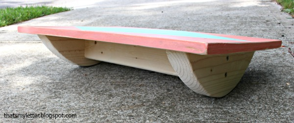 12. Supported Balance Board