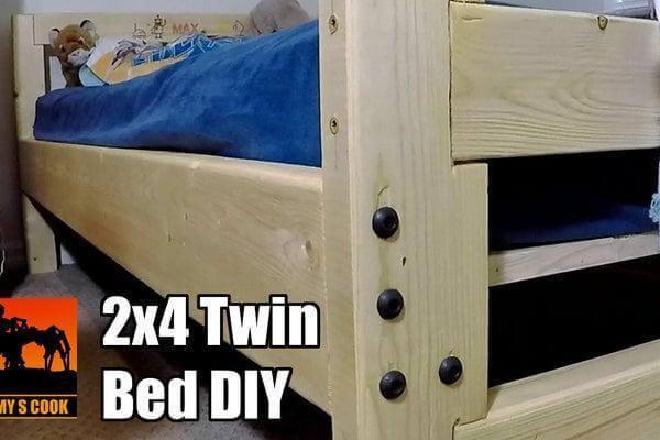 12. Twin Bed DIY