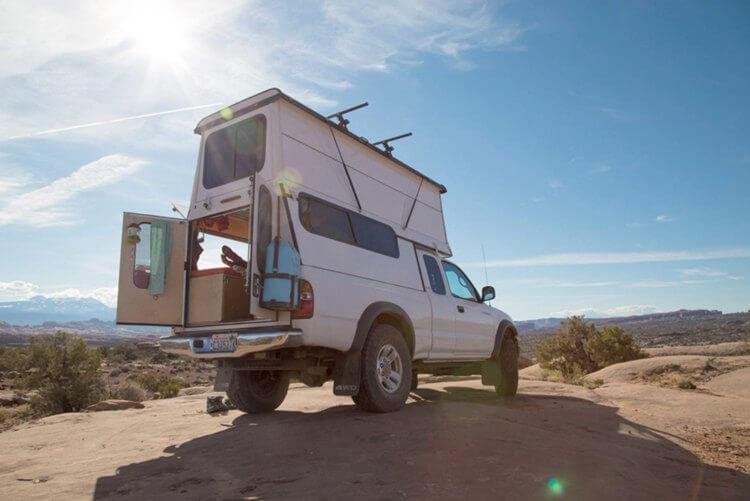 13. Build this DIY truck camper