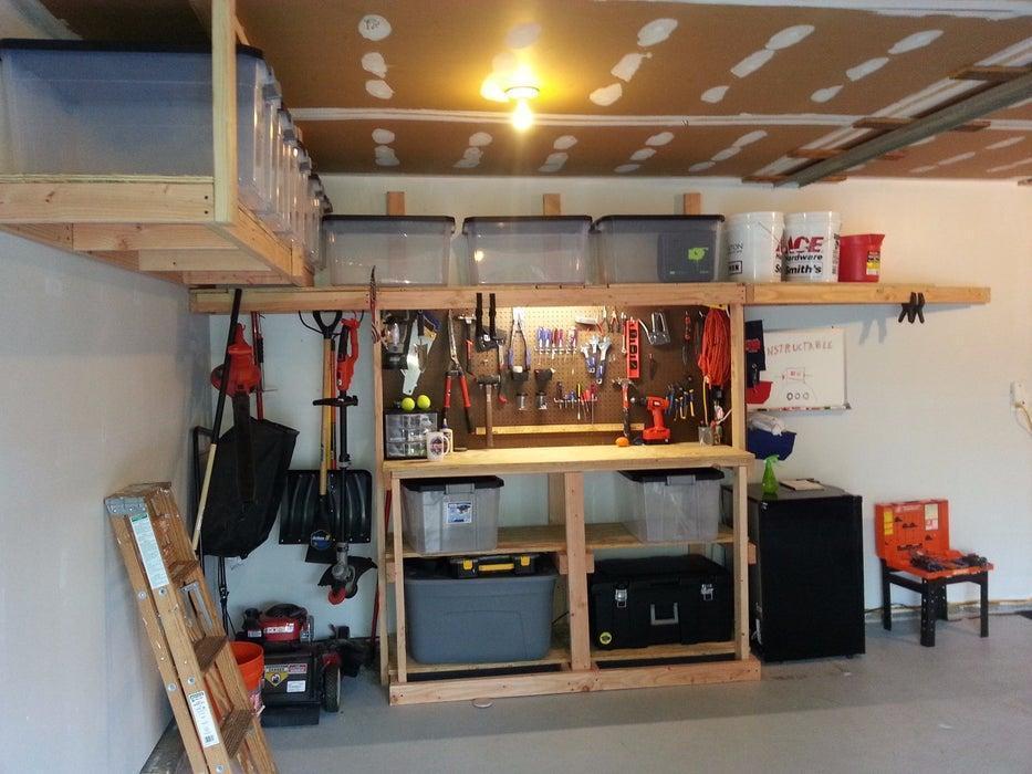 13. DIY Garage Storage