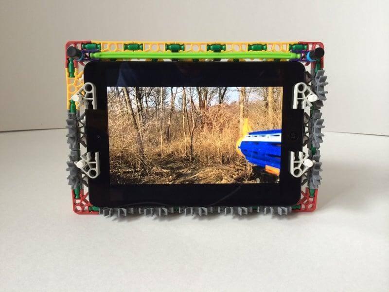 13. DIY Knex Tablet Case
