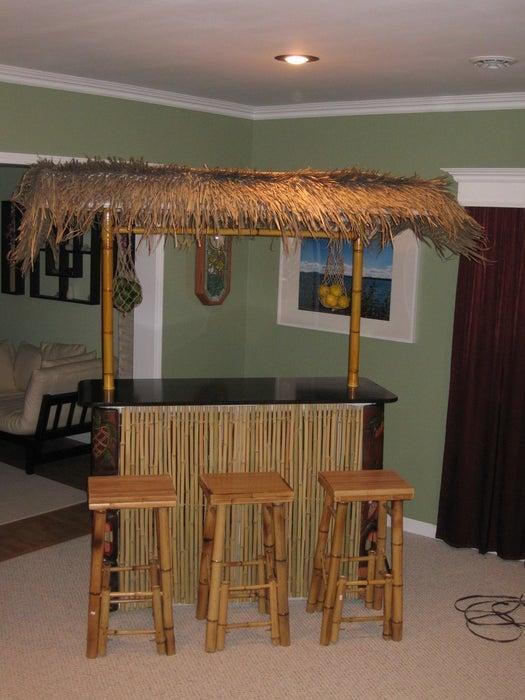 13. DIY PVC Tiki Bar